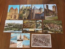 Carte Postale / Aude   11 / Lot De 9 Cartes - Non Classés