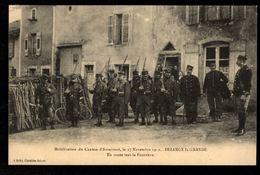 BEZANGE LA GRANDE - Mobilisation Du Canton D'Arracourt, Le 27 Novembre 1912, En Route Vers La Frontière - France