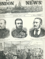 THE ILLUSTRATED LONDON NEWS N.1978 JUNE 9, 1877. ENGRAVINGS RUSSIAN TURKISH WAR TURKEY ROUMANIA BULGARIA - Magazines & Newspapers