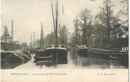8Eb-406: Bruxelles - Le Canal De Willebroeck > Schaerbeek 1906 - Maritiem