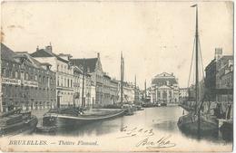 8Eb-405: Bruxelles - Théâtre Flamand L> Beauraing  1903  COMPAGNIE HOLLANDAISE J.HARTOG - Maritiem