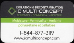 IC Multi-Concept, Isolation & Décontamination (VC400) - Visiting Cards