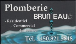 Plomberie Bruneau (VC402) - Visiting Cards