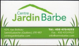 Centre Jardin Barbe (VC410) - Visiting Cards