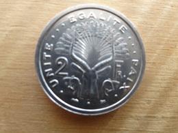 Djibouti  2  Francs  1999  Km 21 Neuve - Djibouti