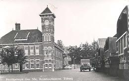 Tilburg, Gen. Maj. Kromhoutkazerne  Hoofdgebouw   (glansfotokaart) - Tilburg