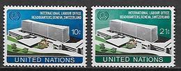 NATIONS - UNIES    -    1974 .  Y&T N° 237 / 238 * .  Siège Du  B.I.T.  à  Genève. - New York -  VN Hauptquartier