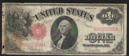 США 1 $   1917 - Washington