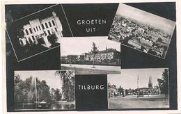Tilburg, Groeten Uit Tilburg    (glansfotokaart) - Tilburg