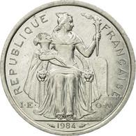 Monnaie, French Polynesia, 2 Francs, 1984, Paris, TTB, Aluminium, KM:10 - French Polynesia