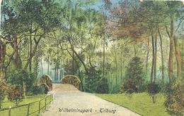 Tilburg, Wilhelminapark  (bruggetje) - Tilburg