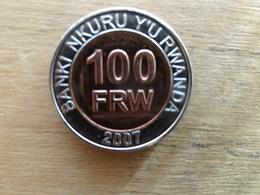 Rwanda  100  Francs  2007  Km 32  Neuve - Rwanda