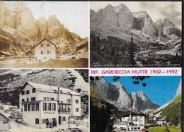DOLOMITI - RIFUGIO GARDECCIA - GRUPPO DEL CATINACCIO - EDIZ. FRANCO FALCADE - NUOVA TIMBRO DEL RIFUGIO - Alpinisme
