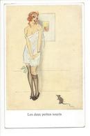 20569 - Les Deux Petites Souris  Elégante Femme N°742 - Femmes