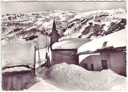 74 La Tour - Au Pays Du Mont Blanc - Le Village Enfoui Sous La Neige - Ed: Cellard 14843 - Andere Gemeenten