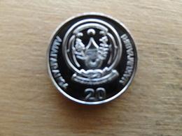 Rwanda  20  Francs  2009  Km 25  Neuve - Rwanda