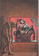NICOLLET  Ed Metal Hurlant N°17 -  Bande Dessinee Humanoides Associes Diable Femme Nue Erotisme - CPM  10,5x15 BE Neuve - Künstlerkarten