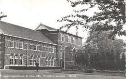 Tilburg, Gen. Maj. Kromhoutkazerne Legeringsgebouw C   (glansfotokaart) - Tilburg