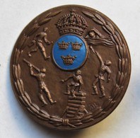 Belle Broche Ancienne Rare Pentathlon Sport Stockholm Sporrong & Co JO De 1912 ? Jeux Olympiques - Sports