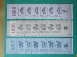 """Bloc 6 Timbres X 3 """" JOURNÉE DU TIMBRE  - Y &T - N° BC2469A - BC252A - BC2578A - Sheetlets"""