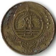 Lot 1 Pièce De Monnaie  1 Escudo 1994  Cap Vert - Cape Verde