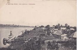 POSTAL DE IQUITOS DEL RIO UCAYALI - REQUENA (PERU) (LIRA Y GIL) - Perú