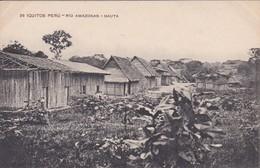 POSTAL DE IQUITOS DEL RIO AMAZONAS - NAUTA (PERU) (LIRA Y GIL) - Perú