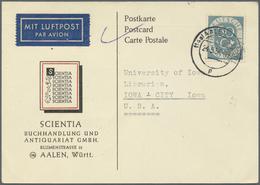 Nachlässe: Deutschland, Posten Mit Marken, Vielen Hunderten Briefen Mit Teil AM Post Und Bauten Sowi - Stamps