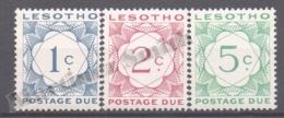Lesotho 1967 Yvert Tax 13-15, Postage Due - MNH - Lesotho (1966-...)