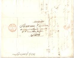 France Belle Lettre Entière Du 29/07/1816 De Chalons à Paris. Belle Qualité. A Saisir! - Marcophilie (Lettres)