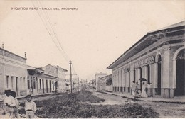 POSTAL DE IQUITOS DE LA CALLE DEL PROSPERO  (LIRA Y GIL) (PERU) - Perú
