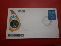 Sri Lanka Enveloppe FDC - Sri Lanka (Ceylon) (1948-...)