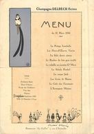 MENUS  Menu Restaurant Le Grillon Paris Rue D'austerlitz 1936 - Menus