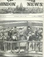 THE ILLUSTRATED LONDON NEWS N.1981 JUNE 30 1877. ENGRAVINGS RUSSIAN TURKISH WAR TURKEY ROUMANIA ROMANIA NEW BRUNSWICK - Magazines & Newspapers