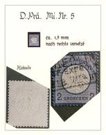 Deutsches Reich - Brustschild: 1872/1875, BRUSTSCHILD-DOPPELPRÄGUNGEN, Die Größte Existierende Samml - Germany