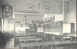 CPA - Belgique -  Liège - Huy - Sainte-Marie - Une Classe De L'école Normale - Hoei