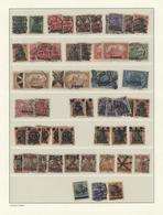 Danzig: 1920/1939, Gestempelter Sammlungsposten Auf Leuchtturm-Blankoblättern Sauber Sortiert, Dabei - Danzig
