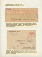 Dt. Besetzung II WK - Luxemburg: 1941/1944, FREISTEMPLER WÄHREND DER BESETZUNG, Kleine Studiensammlu - Occupation 1938-45