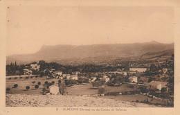 Drome : BLACONS-et-MIRABEL : Vu Du Coteau De Bellevue - France
