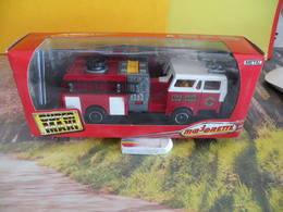 Modèles Réduits > Camion De Pompiers Américain (super Maxi) - Majorette - Pompiers