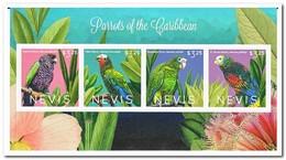 Nevis 2010, Postfris MNH, Parrots, Birds - St.Kitts En Nevis ( 1983-...)