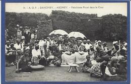 CPA Fétiche Féticheurs Dahomey Non Circulé - Dahomey