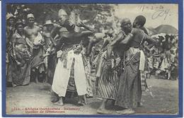 CPA Fétiche Féticheurs Dahomey Circulé - Dahomey