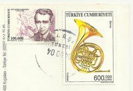 TURKEY 2003  - Music , Musical Instruments (French Horn, Trumpet), Mi. 3355 Used - 1921-... République