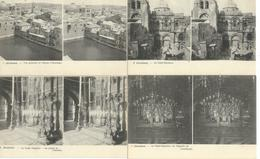 ISRAEL : Terre Sainte - Lot De 24 Cartes Stereo Stéréoscopique - Jérusalem - Jaffa - Béthanie - Bethléem - Nazareth - Israel