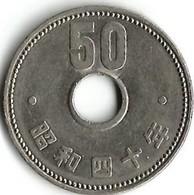 Lot De 2 Pièces De Monnaie  10 - 50  Yen  Japon - Japan