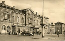 BERNBURG, Saale, Bahnhof (1961) AK - Bernburg (Saale)