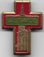 ALSACE - Insigne Religieux - Godsdienst & Esoterisme