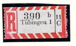 Einschreibzettel Tübingen 1 - Deutschland