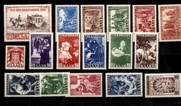 Sarre YT N° 263/267, N° 270, N° 278/282, N° 296/300 Et Service N° 78 Neufs *. B/TB. A Saisir! - 1947-56 Occupation Alliée